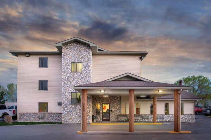 The Super 8 by Wyndham Billings, one of a number of hotels in Billings, Montana.