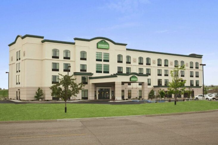 The Wingate by Wyndham - Bismarck, one of numerous hotels in Bismarck, ND.